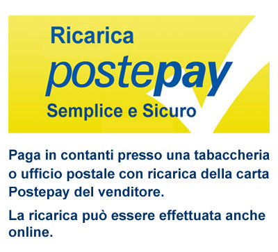 Ricarica Postepay in Contanti